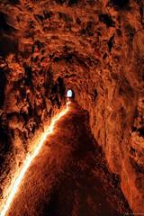 Just follow the trail (Joo Pedro Faria) Tags: quintadaregaleira sintra tunel labirinto pooinicitico