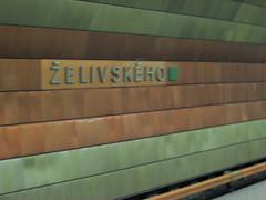 Zelivskeho Station