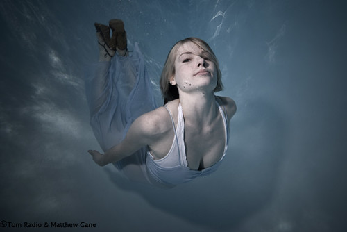 Amazing Underwater Portrait