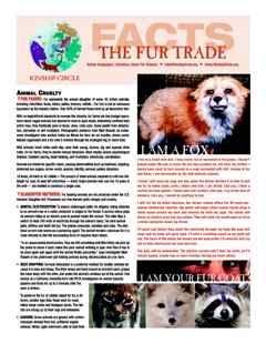 Kinship Circle - Fact Sheet - The Fur Trade