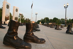 Veterans Memorial Walk (Cindy) Tags: reflection monument reflections army coast memorial branch force boots walk flag military air guard navy flame american missouri mia marching soldiers service marines pow veteran monolith i70 forces veterans ofallon platoon monoliths eternal 1000views armed powmia 10faves vererans
