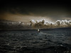 PPC - Sailboat (Bobshaw) Tags: sea sky water sailboat photoshop dark boat ship moody post dramatic processing sail comparison atmospheric ppc notmyphoto overprocessedbeyondrecognition