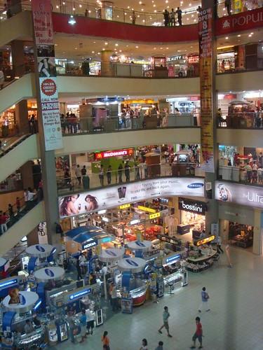 KOMTAR shopping complex, Penang.