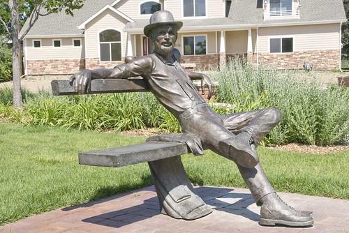 Benson Park Sculpture Gardens -- sculpture benson gardens park loveland sculpturepark art