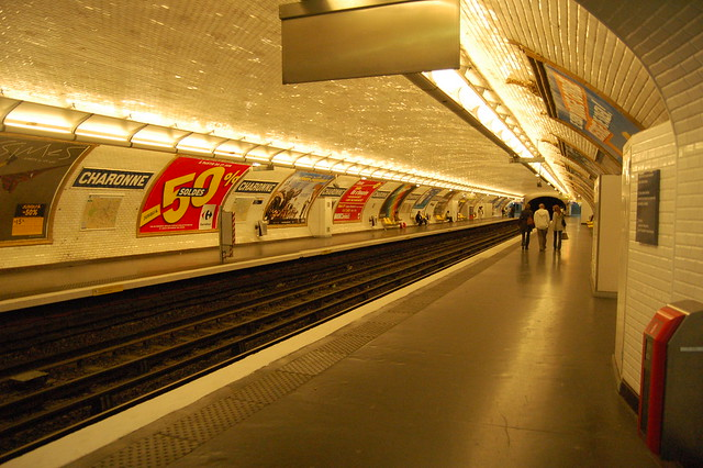 if only every city had the Paris Metro