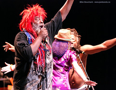 George Clinton at the Ottawa Bluesfest 2007 - photo by flickr user bouche