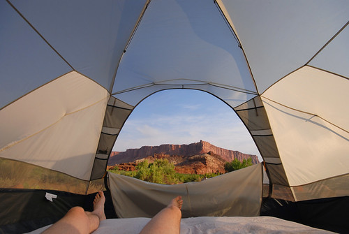 Tent View by Rob Lee, on Flickr