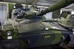 IKV-91 front (Theleom) Tags: juni d50 nikon war gun tank military barrel swedish front where camouflage armor when cannon what juli weapons 2007 centurion fordon krig pansarmuseet