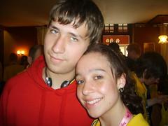 Myself and Rebecca (matthewhughes) Tags: matthew hughes lourdes widnes
