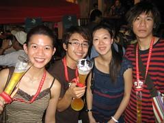 Iris, Me, Kar Weng, Fai (yitweng) Tags: lan fong kwai