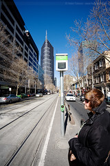 Waiting for the tram at 17mm