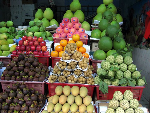 Whatev, yo, just another beautiful fruit display.