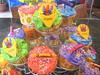 Crayon Cupcakes (Kid's Birthday Parties) Tags: birthday party kids cupcakes artsandcrafts cupcaketree partytheme crayoncupcakes childrenscrayon crayontheme artscraftsthemeparty crayonbirthday crayoncake
