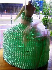 Foamy Wear... (Pixeltopia) Tags: green mainstreet dress egg formalwear eggs eggcarton greendress eggcartons houstonist foamywear