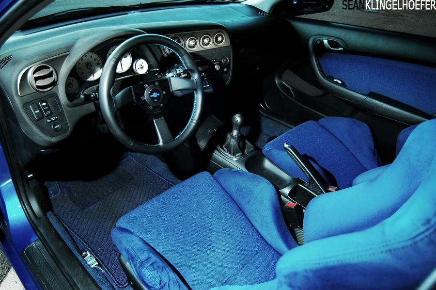Rsx Integra Blue Dc5 Recaro Seats Rear Seat Personal Tein