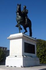 Paris - Île de la Cité: Pont Neuf - Statue du King Henri IV