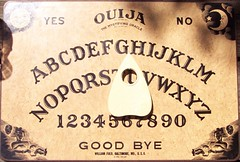 ouija board (sparesomechange) Tags: mystic ouija talkingboard