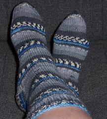 Online Blue Socks