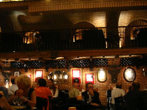 Ambiente en el restaurante de La Ventana