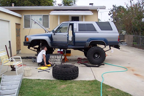 Working on my '85 4Runner