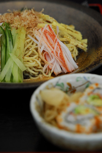 Cold noodle Ramen set - _DSC8517