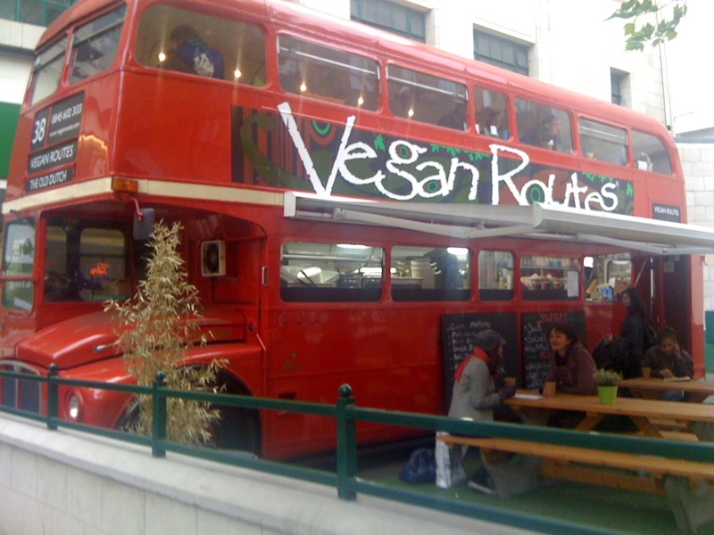 Vegan routes - soho