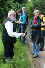 Museumsleiterin Frau Ute Drews & Dr. Helmut Kroll Wikinger Museum Haithabu WMH 20-06-2010