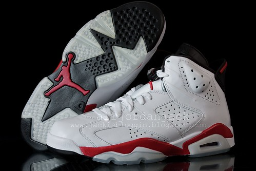Air Jordan VI Retro White/Varsity Red