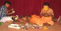 India, Kerala (mountaintrekker2001) Tags: india facepainting makeup kerala kathakalidancers