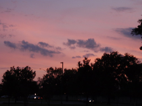 Sunset Over College Station