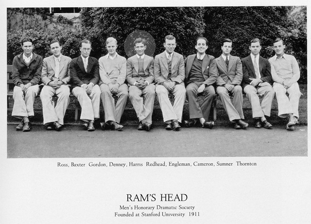 with ram's head, a drama society