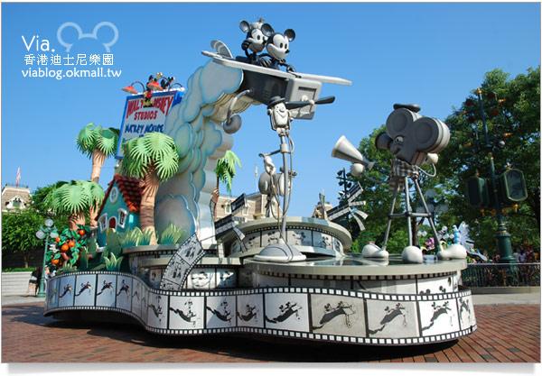【香港迪士尼】跟著via玩香港(3)~迪士尼卡通人物歡樂巡遊13