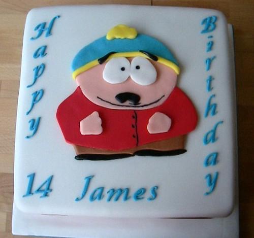 Cartman cake