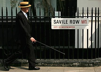 Savile Row, centro de las sastrerías de ropa a medida