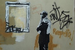 Supuesto Banksy, San Sebastián