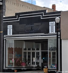 Vitrolite Facade (pam's pics-) Tags: facade storefront wyoming wy rawlins vitrolite pammorris nikond5000 denverpam totalimagesalon