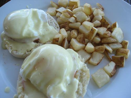 Plain Eggs Benedict