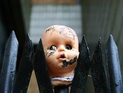 Dead Baby (Supervegan!) Tags: urban baby abandoned dead office doll cheshire head block exploration runcorn urbex
