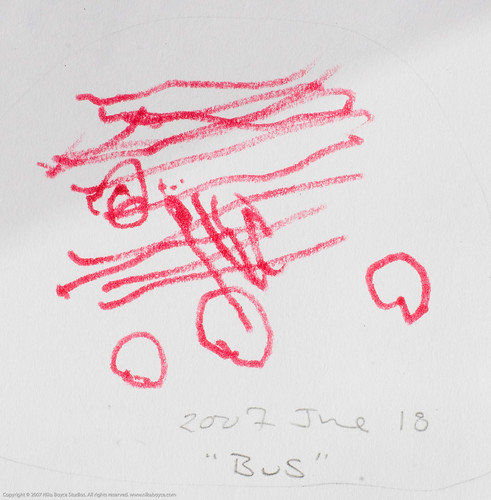 KD's drawing of a bus