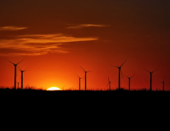 The Golden Promise of Wind (Fort Photo) Tags: sunset tower silhouette landscape golden bravo colorado power wind weld co prairie grassland turbine grasslands 2007 windpower neco pawnee naturesfinest pawneenationalgrassland pawneebuttes 50faves flickrsbest abigfave anawesomeshot aplusphoto