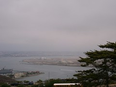 a view of san diego from cabrillo park