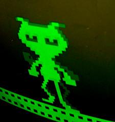 Dancing Demon (Erik K Veland) Tags: monochrome museum computer dance sydney australia powerhouse
