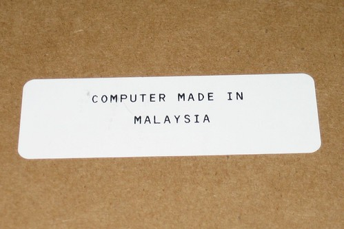 Dell 1420N with Ubuntu 'Computer Made in Malaysia'