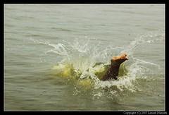 Splash (lenish) Tags: bws boatrace alleppy allapuzha bangaloreweekendshoots vallamkali lenish lenishnamath nehruboatrace2007 nehruvallamkali2007 nehruvallamkali august11triptoalappuzha bwstriptoalappuzha
