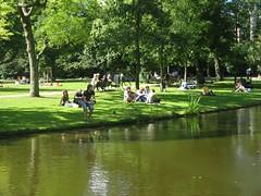 Vondelpark im Sommer