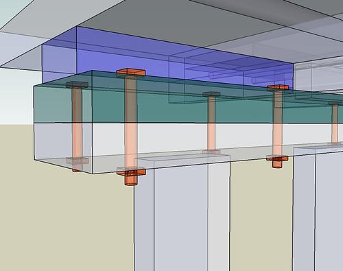 flange detail alternate view