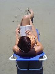 Reading(1) (lorello) Tags: sea beach girl reading book girlfriend top mortelliccio dfoupload