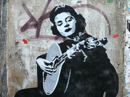 woman stencil
