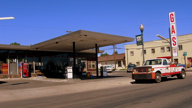 Burns Oregon Gas Station