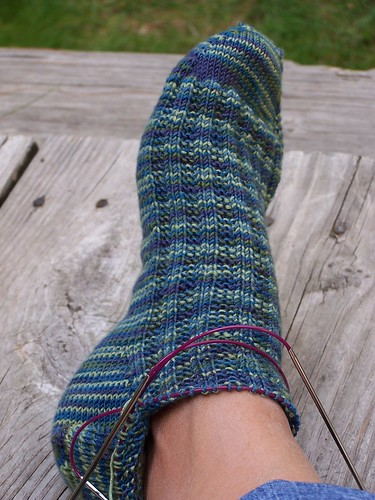 Artyarns toe up